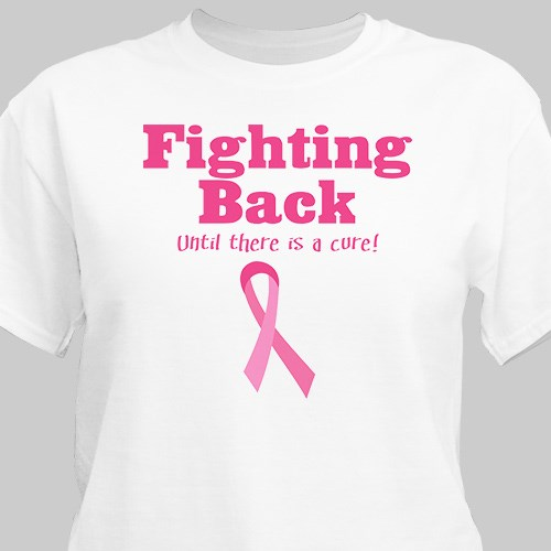 Fighting Back - Breast Cancer Awareness T-shirt