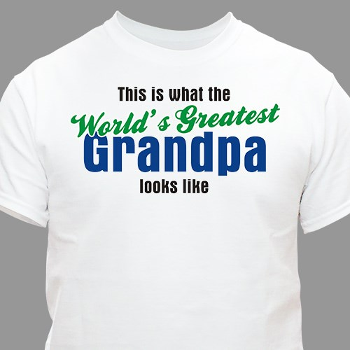 World's Greatest Personalized T-Shirt