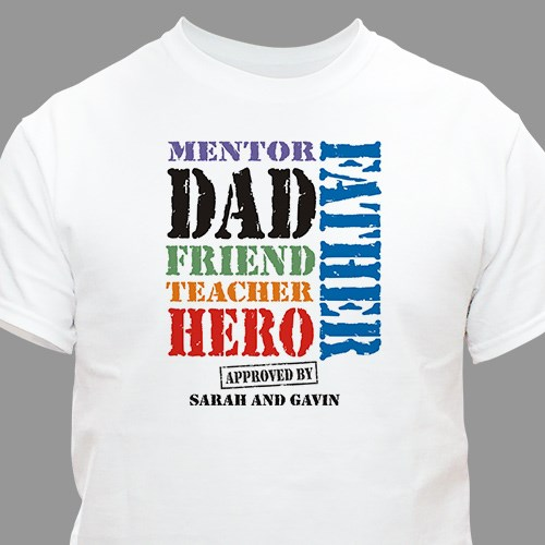 My Dad, My Hero Father's Day T-shirt | Fathers Day Shirts