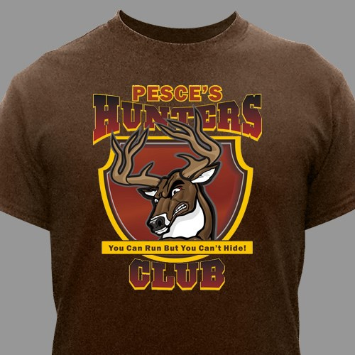Hunt Club Personalized T-Shirt