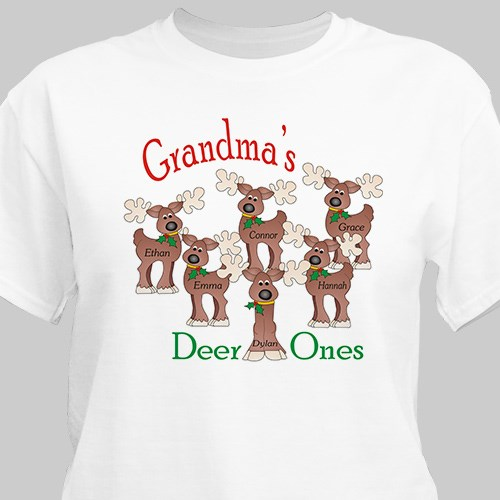 Deer Ones Personalized T-Shirt