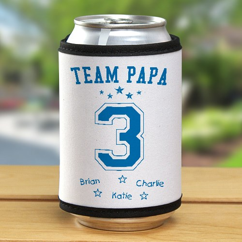 Personalized Team Dad Can Wrap 375909