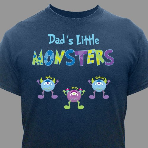 Personalized Little Monsters T-Shirt 37613X