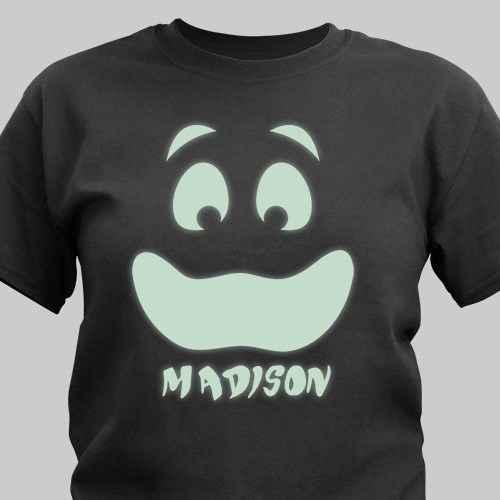 Personalized Glow In The Dark Face T-Shirt 37835X
