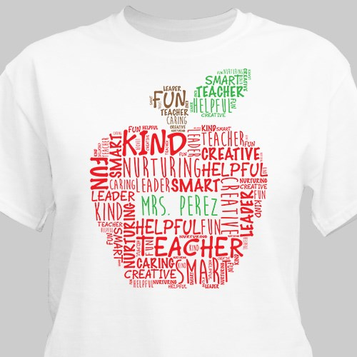 Teacher Personalized T-Shirt 38074X