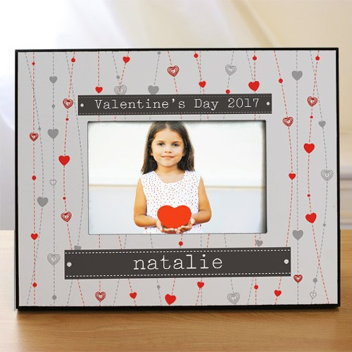 Personalized Strings Of Hearts Photo Frame 410000