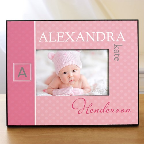 Personalized Initial Baby Photo Frame  4101440
