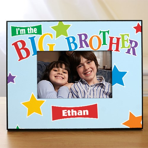 Personalized Big Brother Picture Frame | Big Brother Gifts