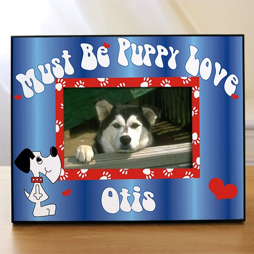 Personalized Puppy Picture Frame