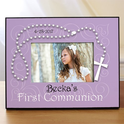 Personalized First Communion Printed Frame 463400