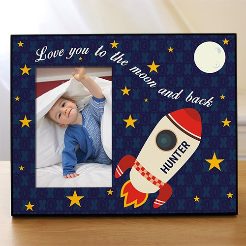 Personalized Love You To the Moon and Back Kids Photo Frame 499946