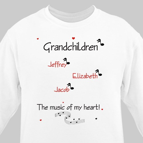Music of my Heart Sweatshirt
