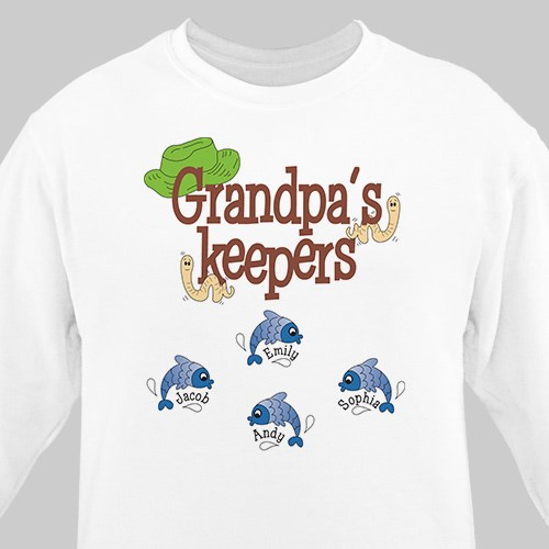 Keepers Personalized Sweatshirt