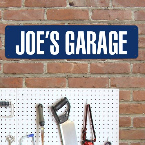 Personalized Dad Street Sign | Mancave Gifts
