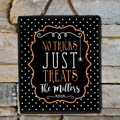 Personalized Family Trick or Treat Slate 631106066