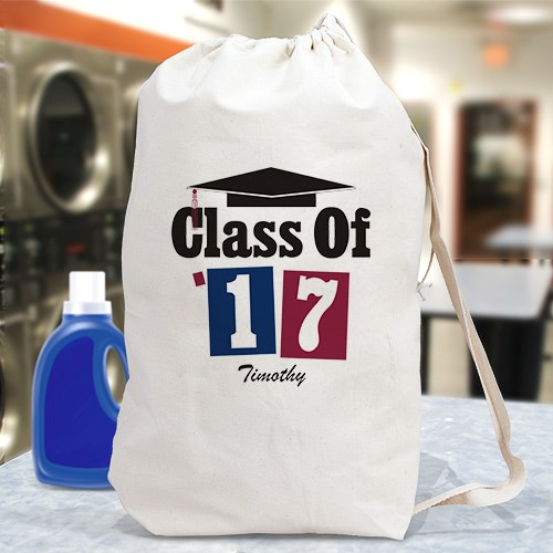 Personalized Class of 2015 Laundry Bags