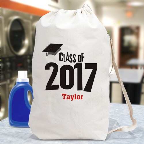 Personalized Graduation Laundry Bag