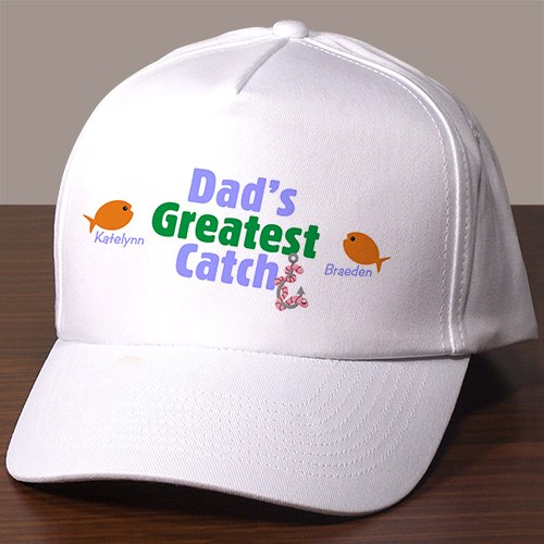 Greatest Catch Personalized Fishing Hat 828196