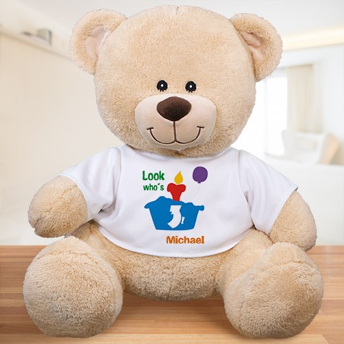 Personalized Birthday Teddy Bear 836699X