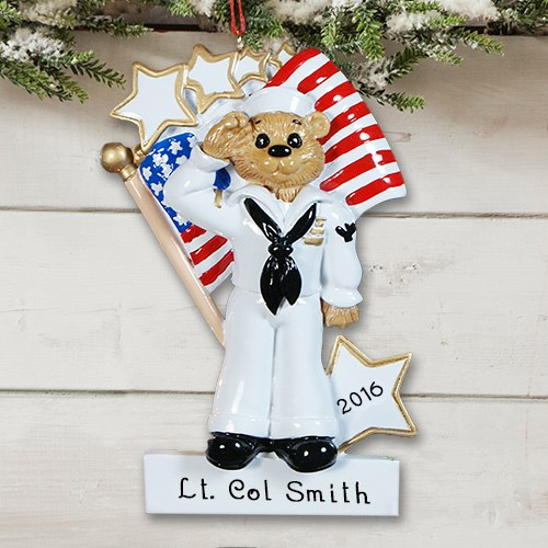 Personalized U.S. Navy Ornament 843683