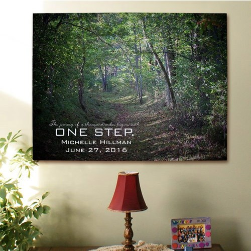 Custom Printed One Step Wall Canvas