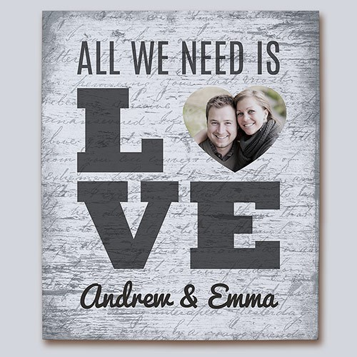 All We Need Is Love Photo Canvas 9199766