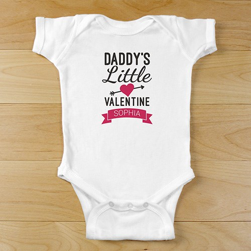Personalized Little Valentine Onesie 939984X