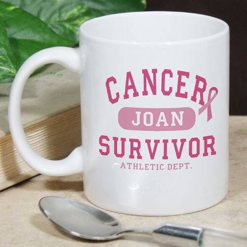 Personalized Cancer Survivor Coffee Mug