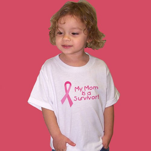 Personalized Breast Cancer Awareness Survivor Youth T-shirt