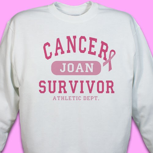 Personalized Breast Cancer Survivor Shirt