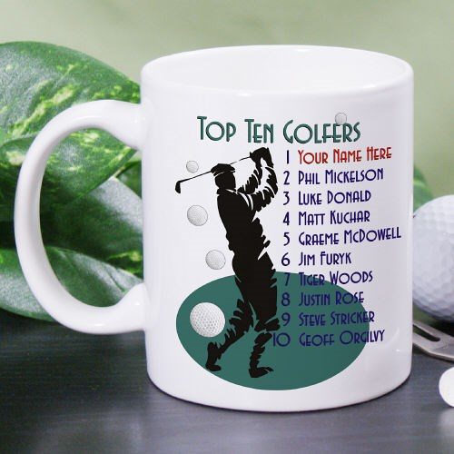 Personalized Golf Coffee Mug