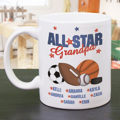 Personalized All Star Coffee Mug