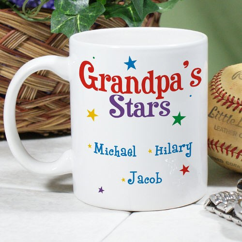 Personalized Grandpa Coffee Mug