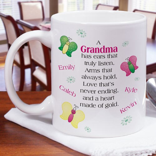Personalized Mothers Day Coffee Mug Gift