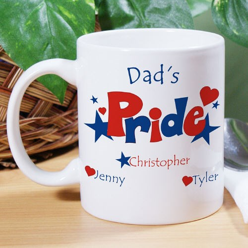 Custom Printed Pride Coffee Mug