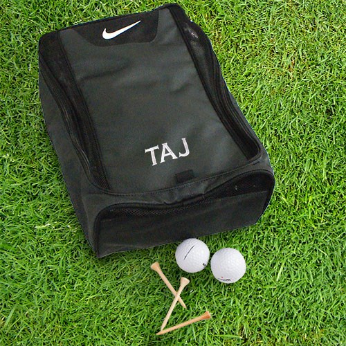 Embroidered Nike Golf Shoe Bag | Golf Gifts for Dad