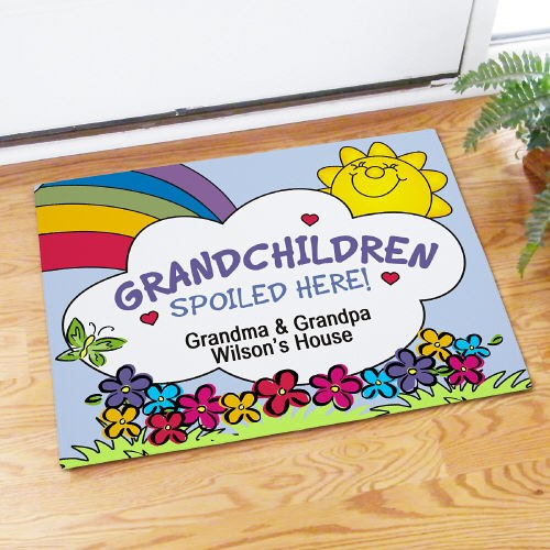 Custom Printed Grandparents Doormat