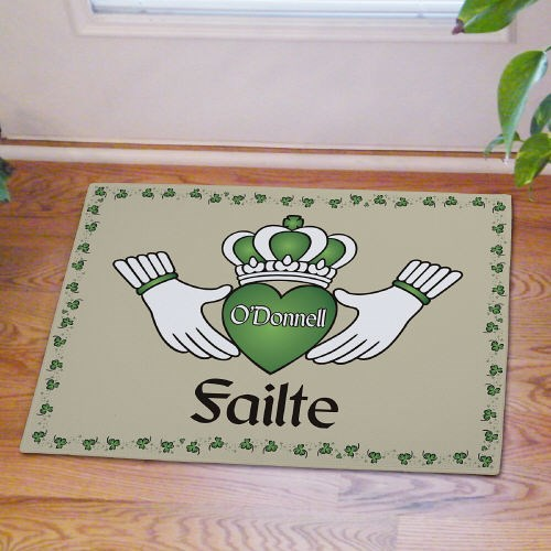 Personalized Irish Blessings Door Mat