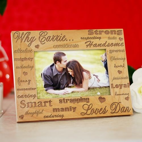 I Love You Wood Picture Frame