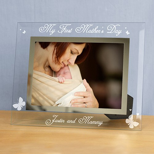 Engraved My first Mother's day Glass Frame G9103382S