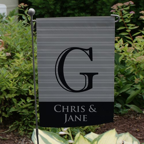 Personalized Family Initial Garden Flag 83093522X