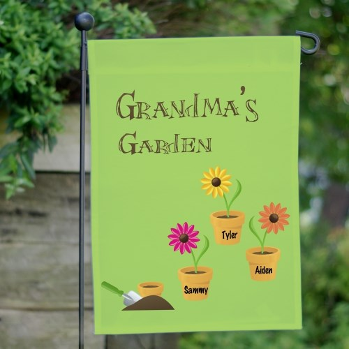 Personalized Garden Flag | Personalized Gifts for Grandma