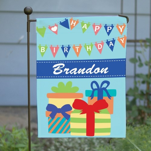 Birthday Boy Garden Flag 83095732X