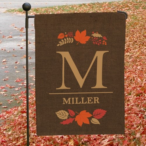 Fall Personalized Garden Flag 83095992X