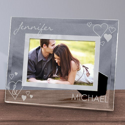 Engraved Just the Two Of Us Glass Picture Frame G97303