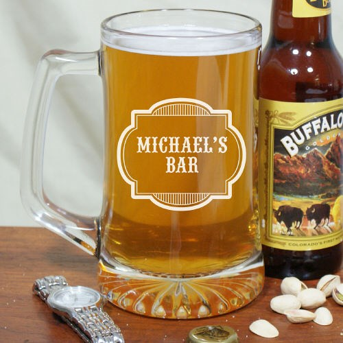 Personalized Beer Mug for your Bar