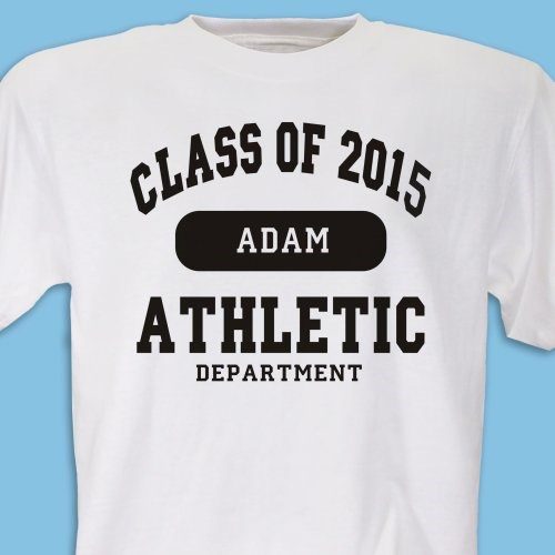 Personalized Graduation T Shirt