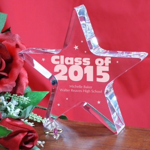 Class of 2015 Personalized Graduation Star Keepsake