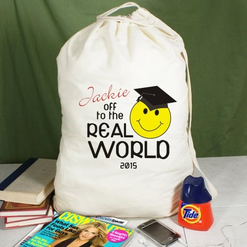 Custom Printed Graduate Laundry Bag