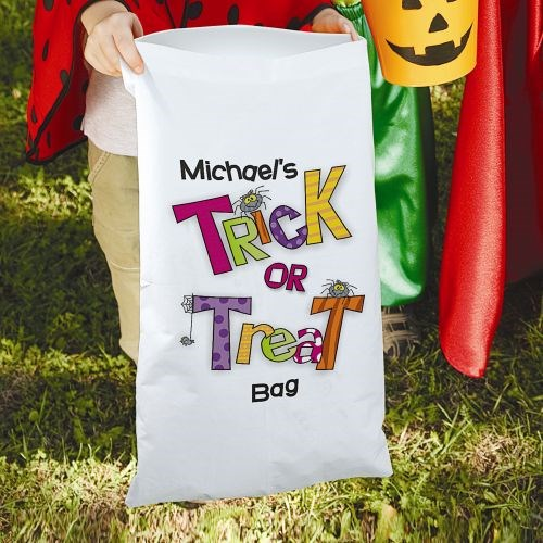Trick or Treat Halloween Sack